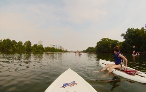 Wandering Wednesday: Stand Up Paddle Boarding on Town Lake